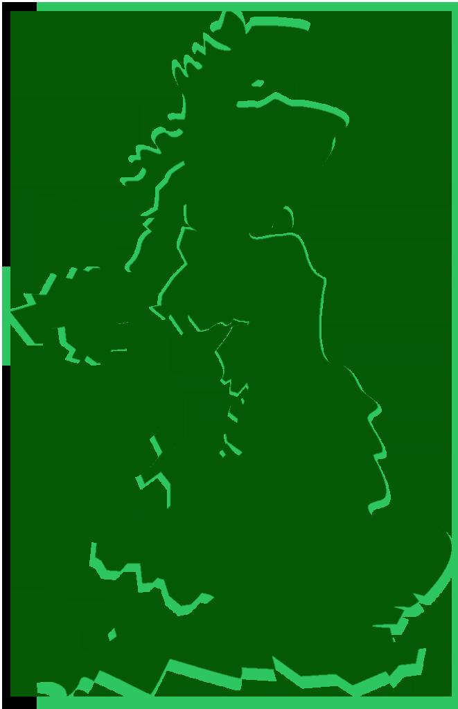 uk outline